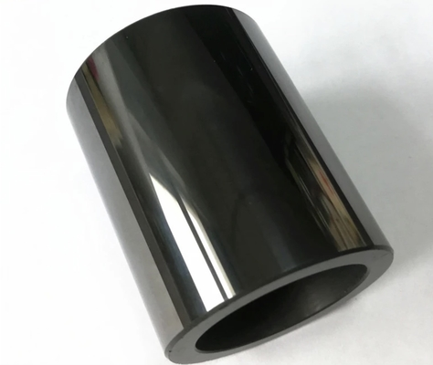mirror polished SIC ceramic tube customized shape wear-resistance Al2O3 ceramic cylinder